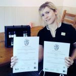 Student with Certificates
